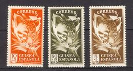 Spanish Guinea 1950. Dia Del Sello Ed 306-08 (**) - Ifni
