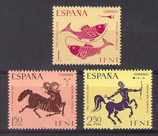 Ifni 1968 - Dia Del Sello - Zodiaco Ed 233-35 (**) - Ifni