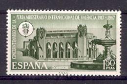 Spain 1967 - Feria Valencia Ed 1797 (**) - 1931-Hoy: 2ª República - ... Juan Carlos I