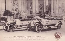 Cars Alpins SAURER 30 HP  - 18 Places - Zonder Classificatie