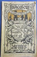Indicateur Bruges   -    Brugge - Toeristische Gids 1914 - Livres, BD, Revues