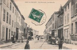 N°4803 R -cpa Pont St Vincent -rue Nationale, Vers Bainville- - Sonstige Gemeinden
