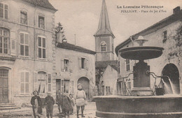 N°4807 R -cpa Pulligny -place Du Jet D'eau- - Sonstige Gemeinden