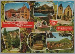 Staufen Im Breisgau - Mehrbildkarte 1   Historische Faust Und Weinstadt - Staufen