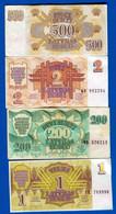 Latvia  4  Billets - Latvia