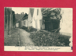 C.P. Reninge =   Puinen  Oorlog 1914-1918 :  Oude  PEPERSTRAAT - Lo-Reninge