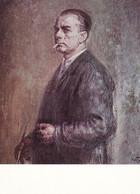 Self Portrait - Painting By Iliya Petrov 1959 - Printed 1977 - Otros Ilustradores
