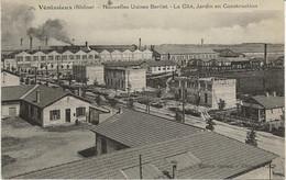 VENISSIEUX -RHONE - NOUVELLES USINES BERLIET - LA CITE , JARDIN EN CONSTRUCTION. - Vénissieux
