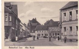 QUIERSCHIED - SAARBRÜCKEN - SAAR - DEUTSCHLAND - BELEBTE ANSICHTKARTE 1948. - Saarbruecken