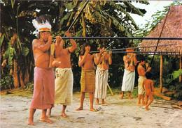 1 AK Peru * Amazon Jungle - Jibaro Indians In A Blowgun Competition - Blasrohr Wettbewerb * - Pérou
