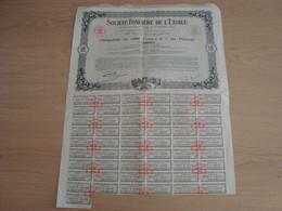 ACTION DE 1000 FRANCS SOCIETE FONCIERE DE L'ETOILE PARIS 1930 - Shareholdings