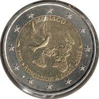 MO20013.1 - MONACO - 2 Euros Commémo. Admission à L'ONU - 2013 - Mónaco