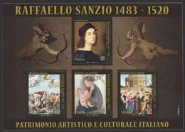 ITALIA 2020 500° Anniversario Morte Di Raffaello Sanzio Usato - 2011-...: Used