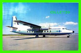AVIONS - QUEBECAIR AIRCRAFT AT RIMOUSKI AIRPORT - TRAVEL IN 1968 - - 1946-....: Modern Era