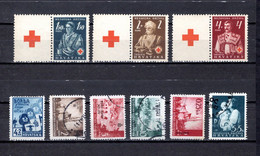 Croacia   1941-42  .-   Y&T  Nº    49-46/48-54/56-58-61 - Croatia