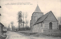 Environs De ST ROMAIN DU COLBOSC - ST JEAN D'ABBETOT - L'Eglise - Saint Romain De Colbosc