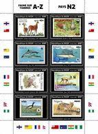 NIGER 2020 - WWF Fauna On Stamps N2, Official Issue [NIG200218a2] - Briefmarken Auf Briefmarken
