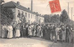 SAINT ETIENNE DU ROUVRAY - Sortie Des Ateliers De La Société Cottonnière - Saint Etienne Du Rouvray