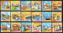 HONG-KONG N°1262/1279** - COTE 10.80 € - Unused Stamps
