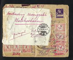 SUISSE 1921: LSC De Genève Pour Genève Avec Le ZNr.J19 Et Obl. CAD, Redirigée Pour... L'Indonésie !!! - Pro Juventute