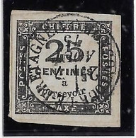 France Taxe N°5 - Oblitéré - TB - 1859-1955 Usados