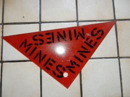 Panneau De Signalisation Mine - Uitrusting