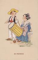 Folklore - Enfants - Musique Danse - Provence - Illustrateur Renaudin - Editeur Ets Artistiques Parisiens Paris N° 4700 - Bailes