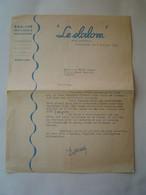 TARIF TOURISME Ancien 1953 : HOTEL LE SLALOM - JEAN BADARELLI / COURCHEVEL / SAVOIE - Folletos Turísticos