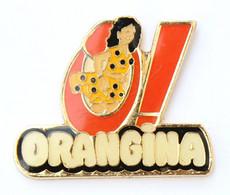 Pin's O ! - ORANGINA - La Pin'up En Robe à Pois - J722 - Boissons