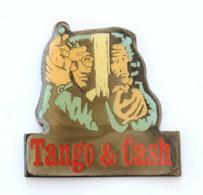 Pin's TANGO & CASH - Film De 1989- Portraits De Sylvester STALLONE Et Kurt RUSSEL - Warner - J723 - Cinema