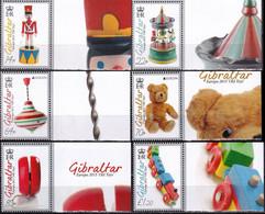 Gibraltar 2015 Europa Old Toys 6v MNH - 2015