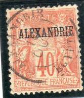 Alexandrie ,année 1899-1900 N° 13 Oblitéré - Gebraucht