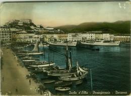 PORTOFERRAIO ( LIVORNO ) ISOLA D'ELBA - DARSENA - EDIZIONE TOGNOLI - 1950s (BG6043) - Livorno