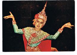 CPA. Escale En Thailande.Bankok Danseuse. Pub Au Dos. (AA1.12) - Tailandia