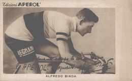 Padova Cartolina Pubblicitaria Edizioni Aperol Alfredo Binda FP P541 - Padova