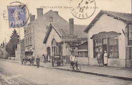 58 /  Cercy La Tour : Avenue  De La Gare   ///   REF . Sept.  20   ///   BO. 58 - Altri Comuni