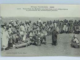 CPA - Soudan - Tam Tam De Habbes - Sudan