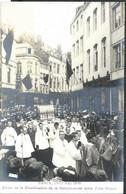 Photo Carte 1906 Fêtes De La Béatification De La Bienheureuse Mère Julie Billart - Namur