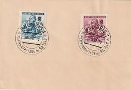 Boehmen Und Maehren / 1942 / Mi. 111/112 Auf Blancobrief, SSt. BUDWEIS (Nr. 107) (A983) - Lettres & Documents
