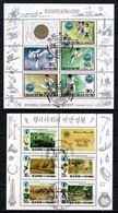 N Korea 1992 - Mi. 3296/3300 + Taekwon  Mi. 3334/38  Used - Obl. -  Gebr. - Korea, North
