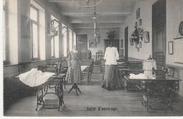 N°4823 R -cpa Pensionnat Notre Dame Namur -salle D'ouvrage- - Namur