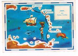 CPA. Iles Vierges..   Pub Au Dos. (AA1.18) - Isole Vergini Americane