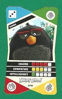 VARIÉTÉS COLLECTOR 2020  ANGRY BIRDS 3 / 40 BOMBE  CORA DENT BAS A DROITE DEVANT ET DOS - Sammelkartenspiele (TCG, CCG)