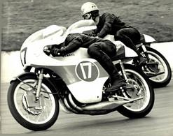 MALLORY PARK 1968 PAUL SMART ALAN DUGDALE YAMAHA  20*15Cm Motocross Course De Motos MOTORCYCLE - Deportes