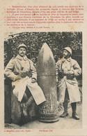 Obus Exposé à Gerardmer Guerre 1914 Poilus Du 44 Eme .  Schlucht Envoi Aux Etangs à Langeais - Gerardmer
