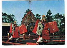 CPA. CPA. Japon.Danse Rituelle Manzaï Raku.    Pub Au Dos. (AA1.20) - Altri