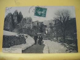 06 217 CPA 1908  - PEONE - L'HIVER - ANIMATION - Otros Municipios