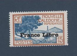 Timbre Nouvelle-Calédonie 15 C N° 201 Gomme Charnière - Nuovi