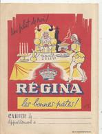 Protége Cahier , REGINA , Les Bonnes Pâtes , Les Quatres Opérations , Frais Fr 1.85e - Alimentare