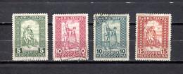 Bosnia Herzegovina   1916-18  .-  Y&T  Nº   93/96 - Bosnien-Herzegowina